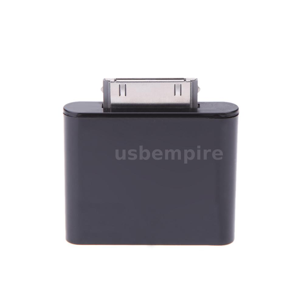 bluetooth adapter dongle transmitter for ipod mini ipod nano touch video black ebay. Black Bedroom Furniture Sets. Home Design Ideas