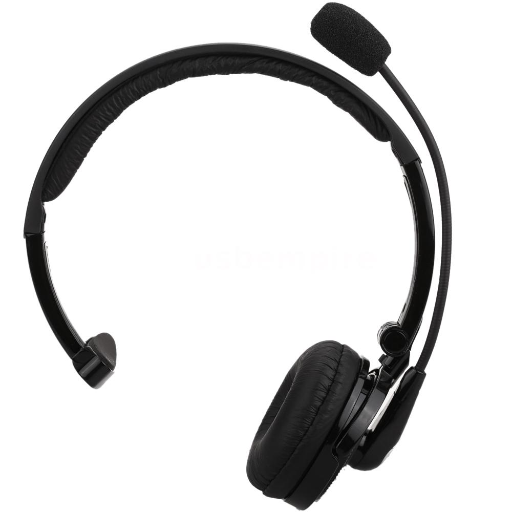 Over The Head Boom Mic Bluetooth Noise-Canceling Headset For Trucker Drivers
